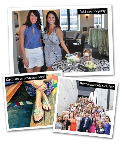 Host a fibi & clo shoe party